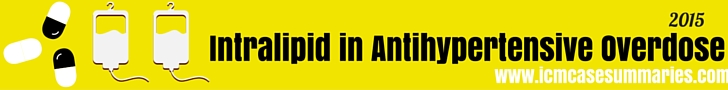 Intralipid in Antihypertensive Overdose